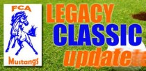 FCA Legacy Classic: Golf & Walk Update