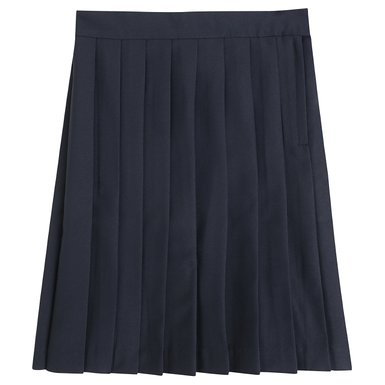 Navy blue pleated uniform skirt – Modern skirts blog for you