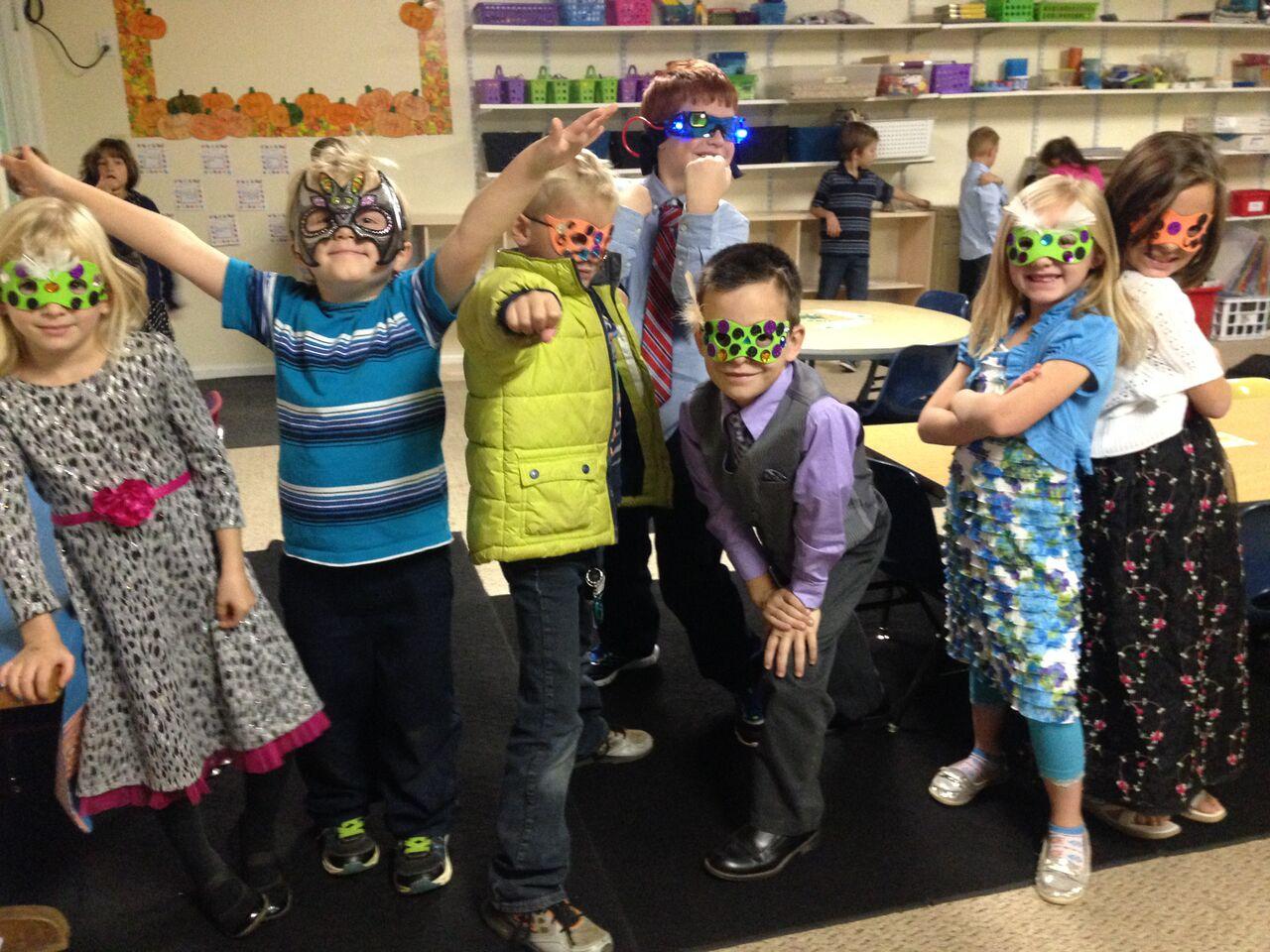 Spirit Week - Formal Friday Masquerade!