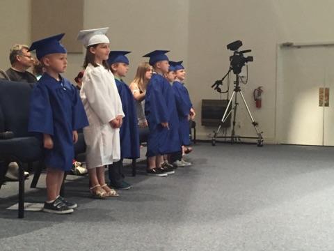 FCA Kindergarten Graduates!